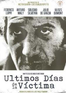 Últimos días de la víctima (1982) Thriller con Federico Luppi