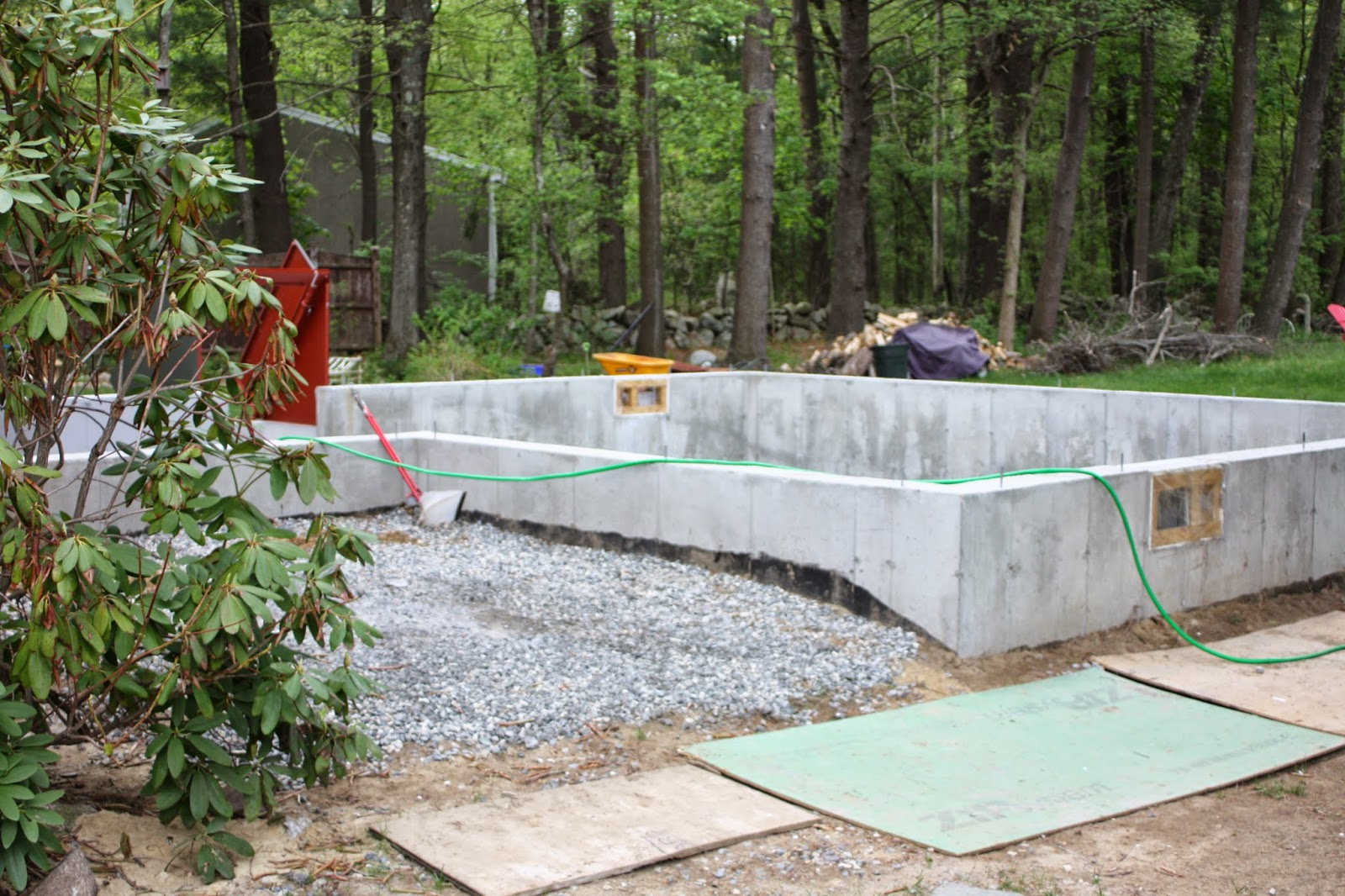 East Coast Styler : New Construction Home addition update ...