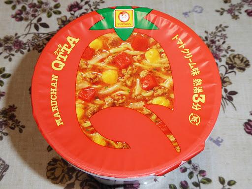【東洋水産(マルちゃん)】QTTA(クッタ)のトマトクリーム味