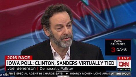 Joel Benenson -- Clinton pimp