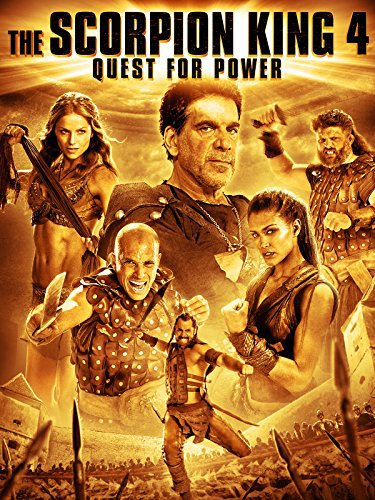 Poster of The Scorpion King 4 Quest for Power 2015 English 720p BluRay ESubs Download