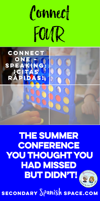 CONNECT FOUR:  Integrating Technology and Best Practices in 4 Language Abilities in the Secondary Classroom.