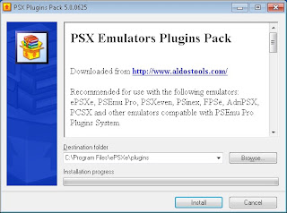 PSX Emulator Plugins Pack (Video Plugin Untuk Emulator PSX)