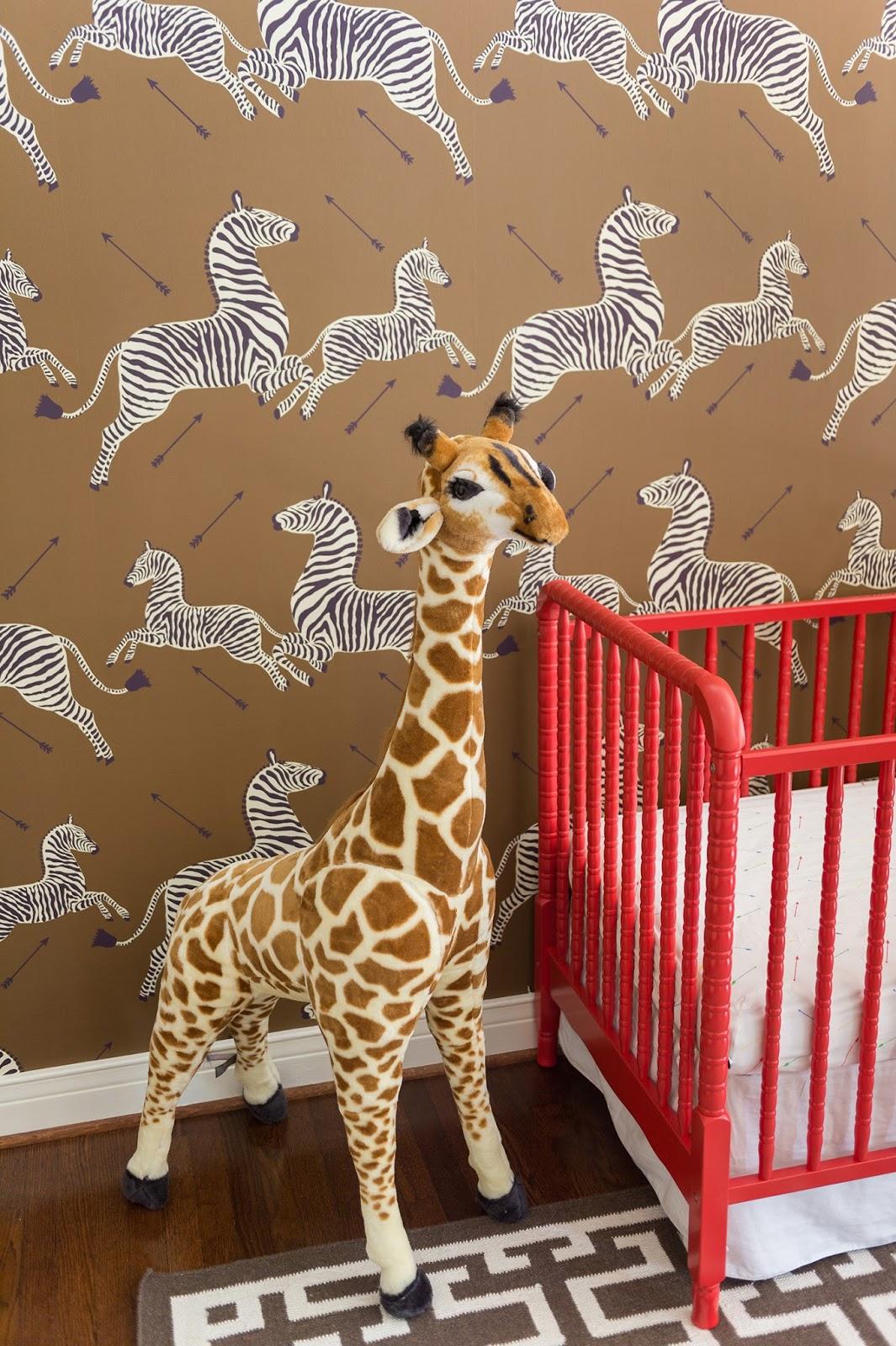 A Sophisticated Jungle Safari Nursery The Glam Pad
