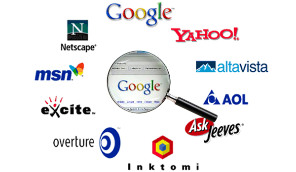 List of top 10 search engine details - A world