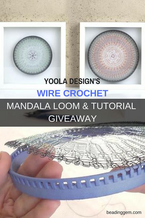 Winner Of Yoola Design U0026 39 S Wire Crochet Xxl Loom And Tutorial Giveaway