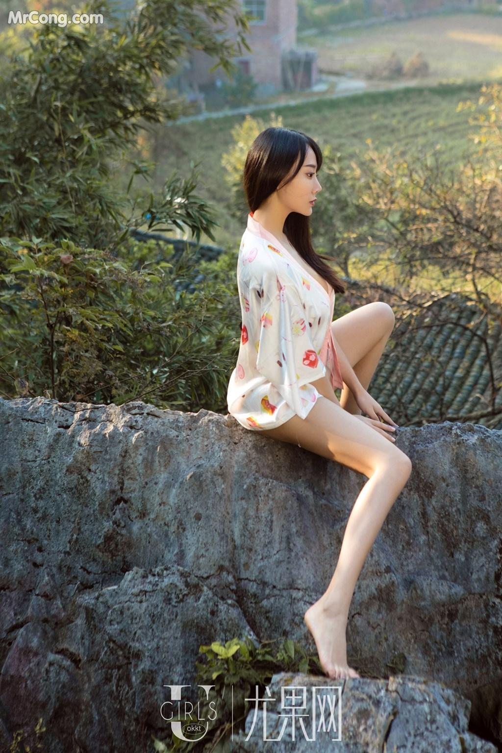 Image UGIRLS-U318-He-Jia-Ying-MrCong.com-007 in post UGIRLS U318: Người mẫu He Jia Ying (何嘉颖) (66 ảnh)