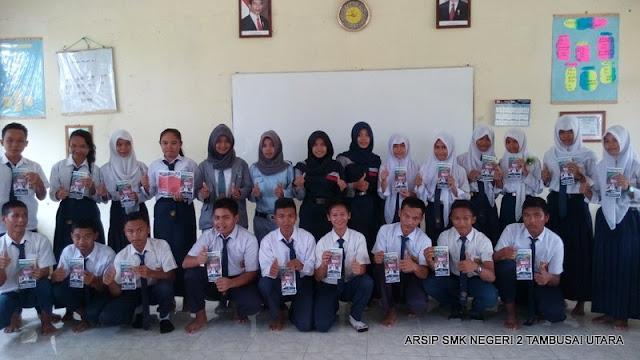 Sosialisasi Penerimaan Siswa Baru di SMPN 3 Tambusai Utara T.P. 2015/2016 Meriah
