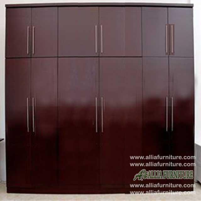 lemari pakaian minimalis cabinet unit hero