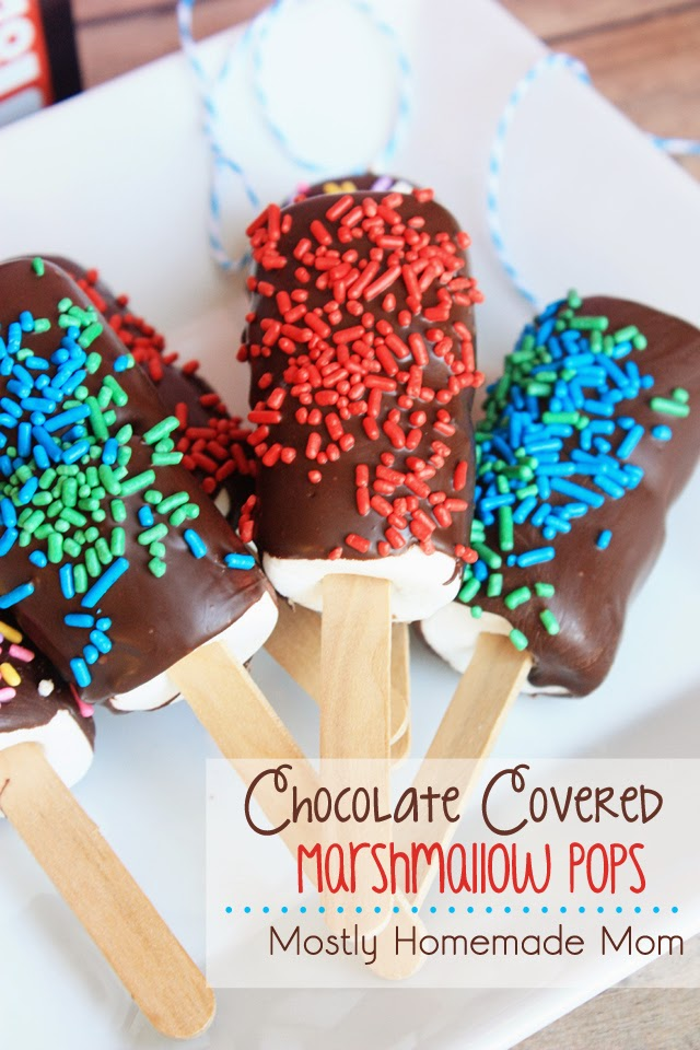 Chocolate Covered Marshmallow Pops With Big Hero 6