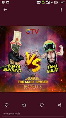 The mask singer indonesia season 4, buaya buntung, star syndrome, tahu gulat, pura pura ninja,