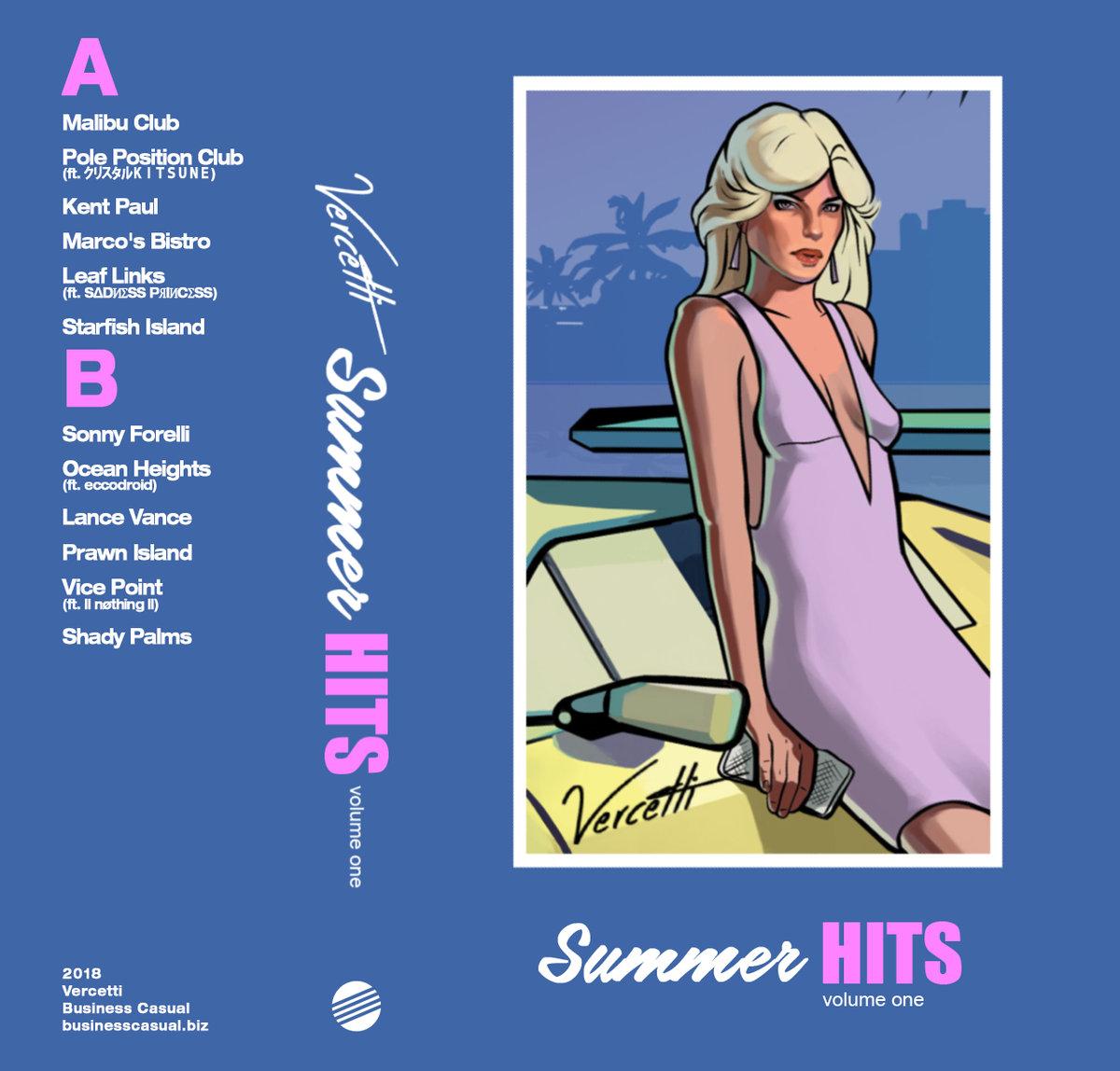 Vercetti Album 'Summer Hits Vol. 1 | Der musikalische Sommer überbrückt das Schmuddelwetter
