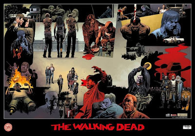 The Walking Dead - poster 10° anniversario in Italia