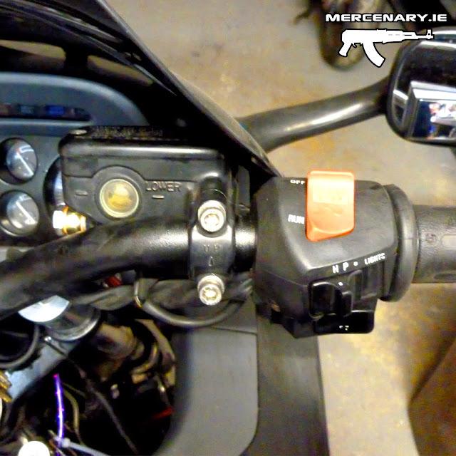 CBR1000F Handlebar Conversion