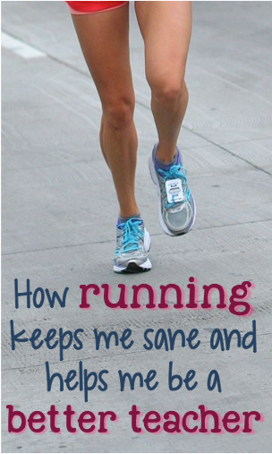 I'm a stressed out and tired teacher, but running keeps me sane and makes me better at my job!  Click here to read my story!