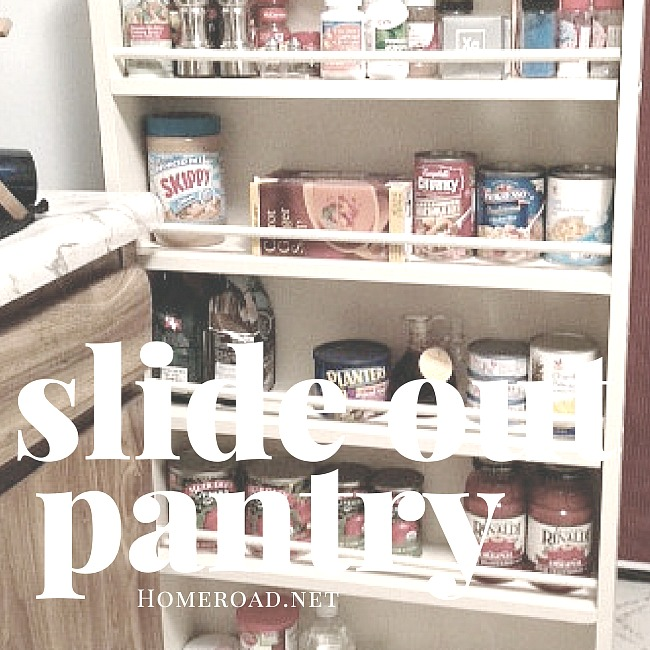 slide out cabinet for small kitchen problems