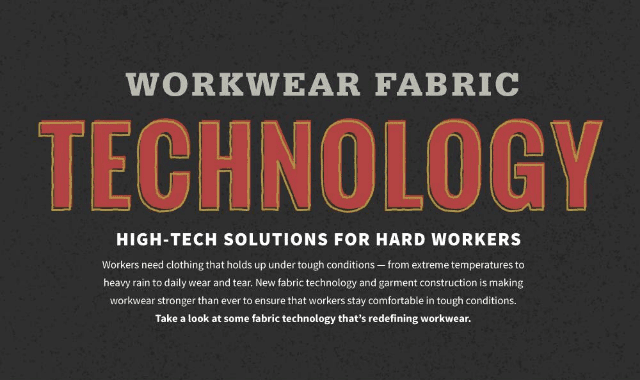 Workwear Fabric Technology - High-tech Solutions for Hard Workers