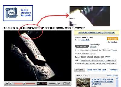 La molla dell'astronave extraterrestre