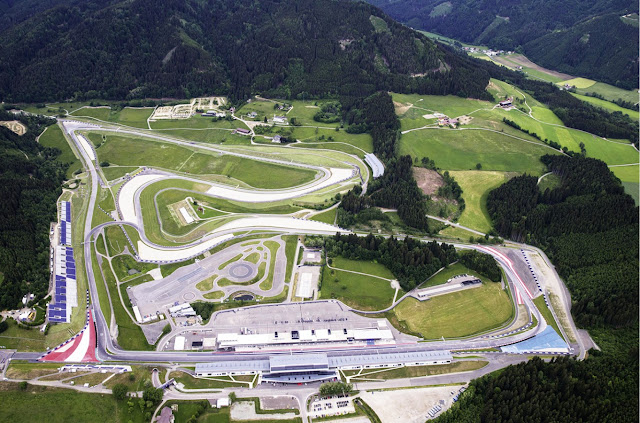 sirkuit Red Bull Ring - Spielberg Austria