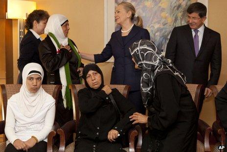 Usa erkanner syrisk opposition