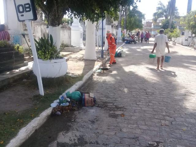 Prefeitura preparou cemitérios de Goiana para Dia de Finados