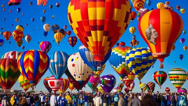 Υπερθέαμα από αερόστατα (βίντεο)