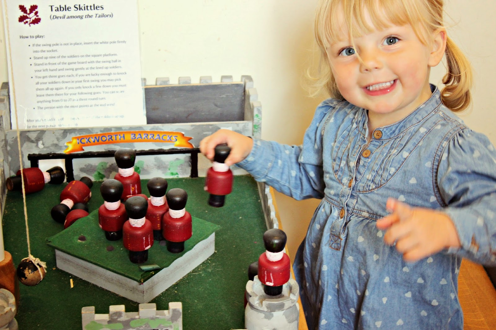 children activities at Ickworth house