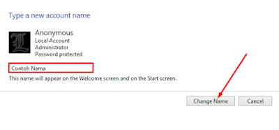 Cara Simple Mengganti Nama User Account di Windows 8+ 13