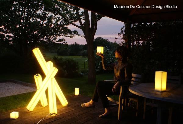 Arquitectura de casas iluminaci n exterior de dise o - Lamparas exteriores para jardin ...