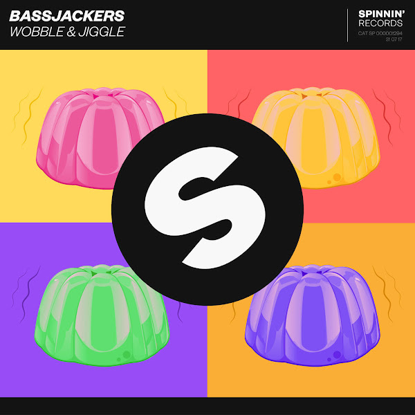 Bassjackers - Wobble & Jiggle - Single Cover