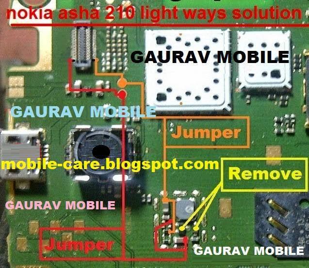 Nokia Asha 210 Display Light Ways Solution - MobileRdx24