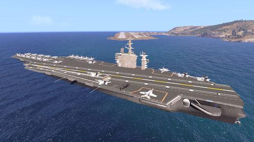 Arma3版USSニミッツ アドオンの新しいレイアウト