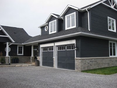 The Dark Color Housing