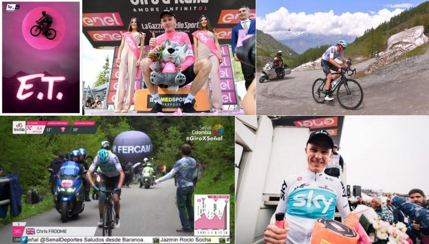 Cima Coppi rivoluziona il Giro d'Italia: Froome vince ed è maglia rosa, crollo Yates