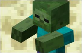 Minecraft Zombie Figures