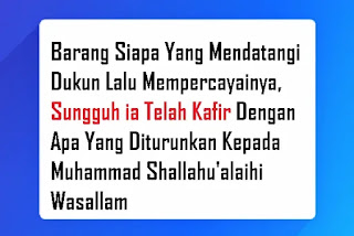 Perdukunan dalam pandangan islam