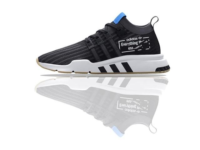 online retailer 6af26 1583b Showcasing many of the season s most coveted silhouettes in a special  release, this month adidas Originals brings the extra-large branding trend  to eight of ...