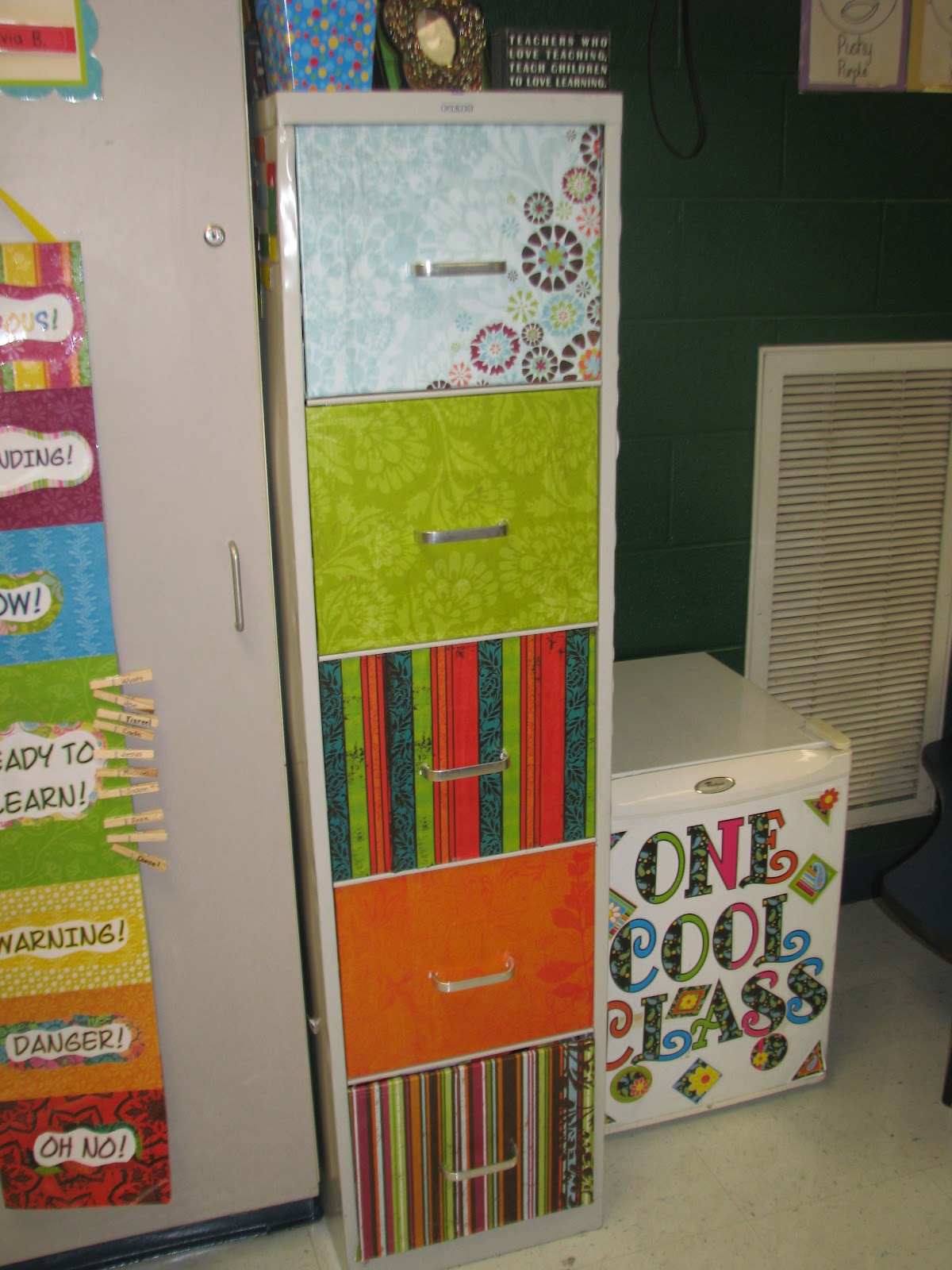 Wills Valley KinderKats Cute Filing Cabinet Ideas from WVES