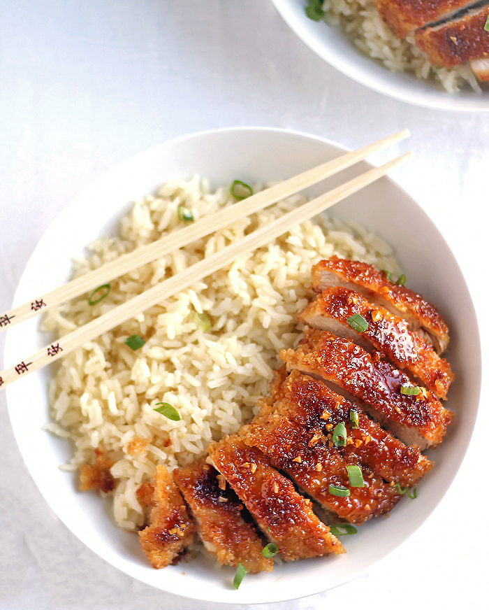 Crispy Pan Fried Honey Garlic Chicken #Recipe