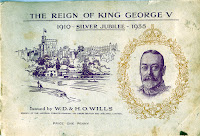 Cigarette Cards: Reign of King George V 1910-1935 cover