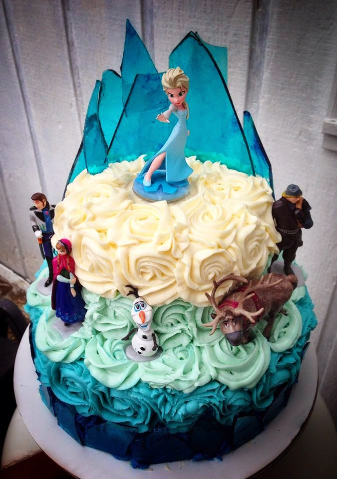 Cakes And Cookies Disney S Frozen Birthday Cake