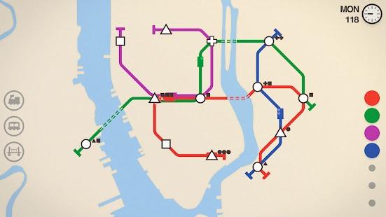 Mini metro Apk Mod Free on Android Game Download