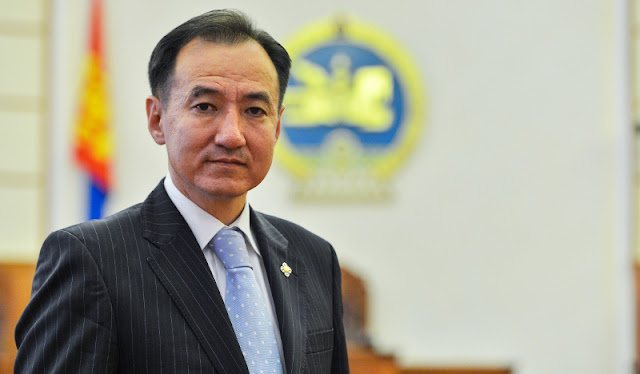 Image Attribute: Mongolian Foreign Minister Damdin Tsogtbaatar / Source: AKI Press