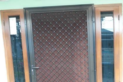 Pintu Expanda pemasangan di Rumah Bu Onnie Kelapa Gading dan Cempaka Putih Jakarta