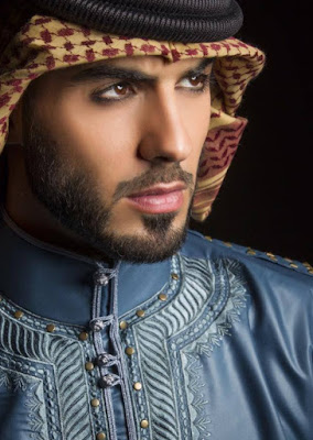 Omar Borkan Al Gala most handsome man  2016