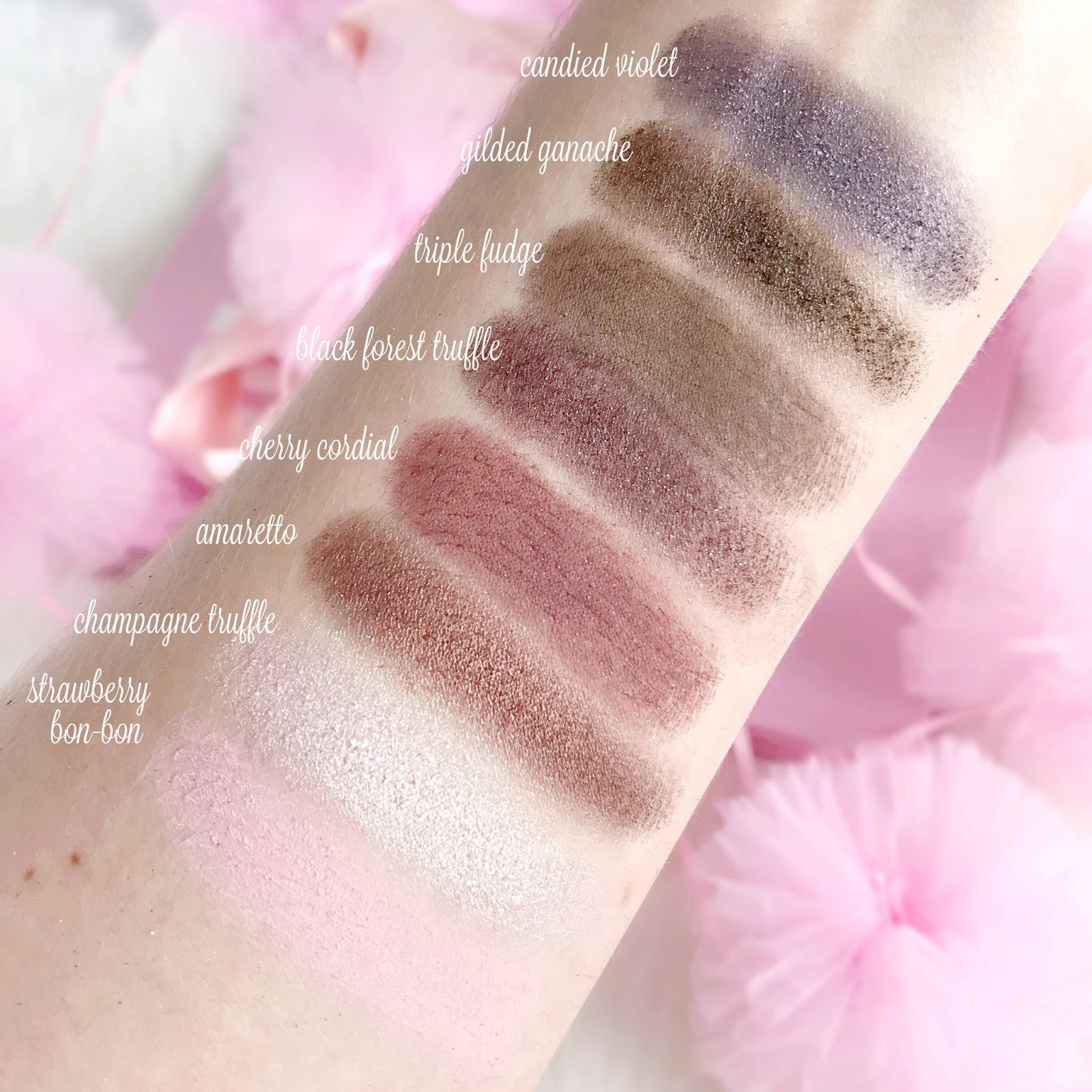 Too Faced Chocolate Bar Palette Swatches   Is It Worth The Hype?