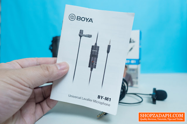 boya by-m1 wired lav mic review