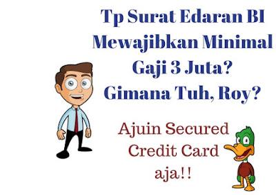 Gambar 2 : Kartu Kredit Penghasilan dibawah 3 Juta