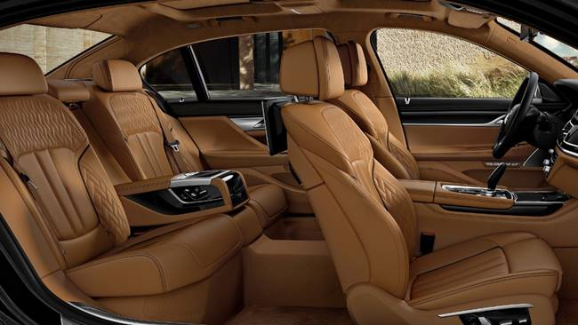 BMW 7 Series Rose Quartz: 750Li as Individual Edition for Japan