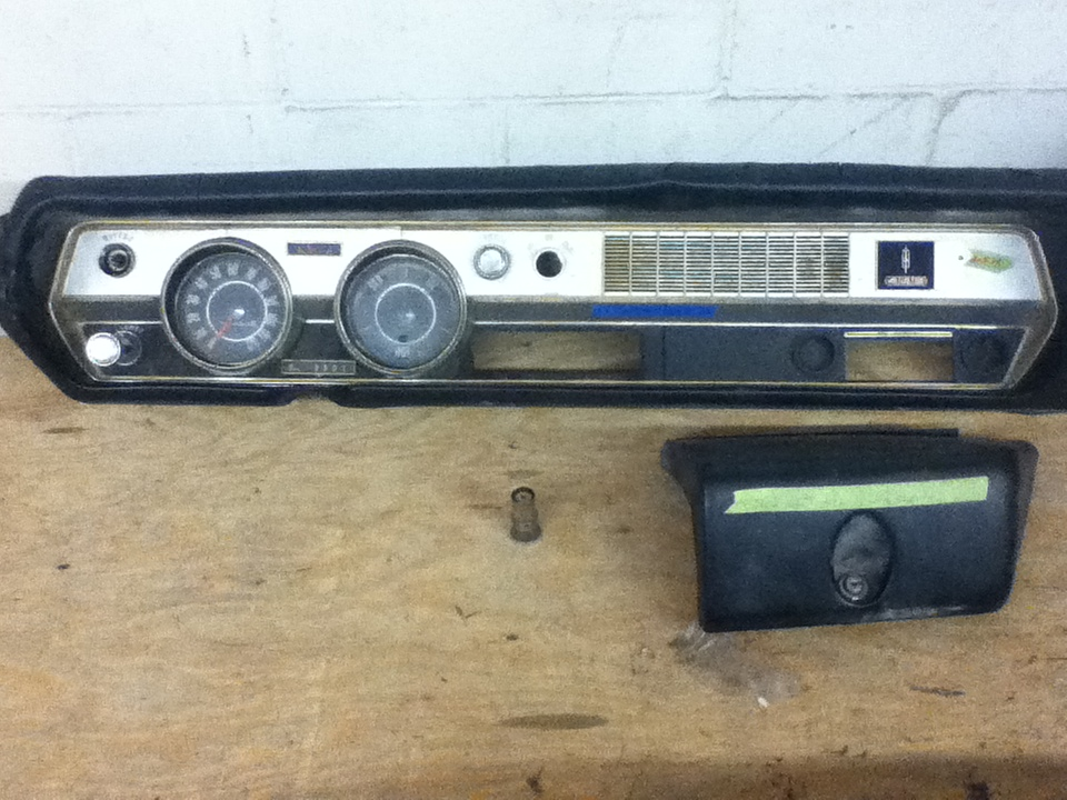 Just Dashes Production Center 1967 Oldsmobile 442 Dash